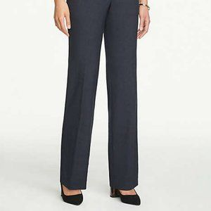Ann Taylor | Signature Straight Trousers 8 Navy